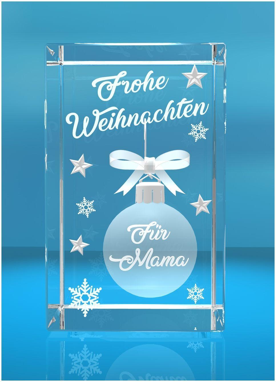 VIP-LASER 3D Weihnachtskugel Frohe Weihnachten