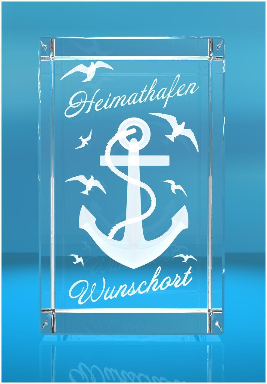 3D Glasquader I Heimathafen + Wunschort
