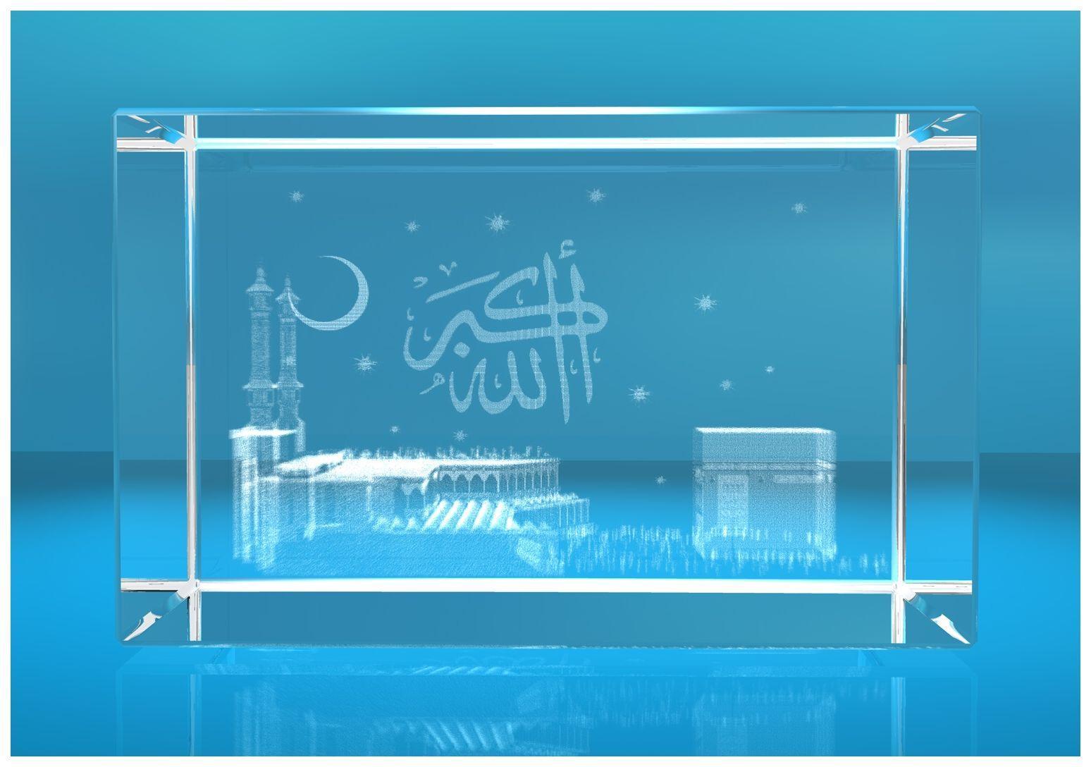 3D Glasquader   Motiv: Mekka