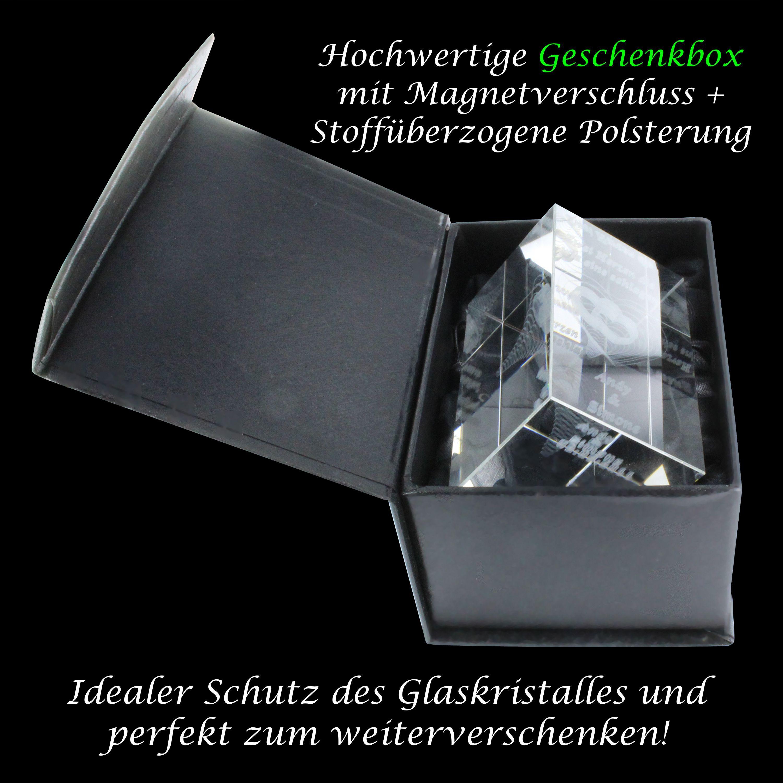 3D Glasquader I Blumentopf - Beste Mama der Welt