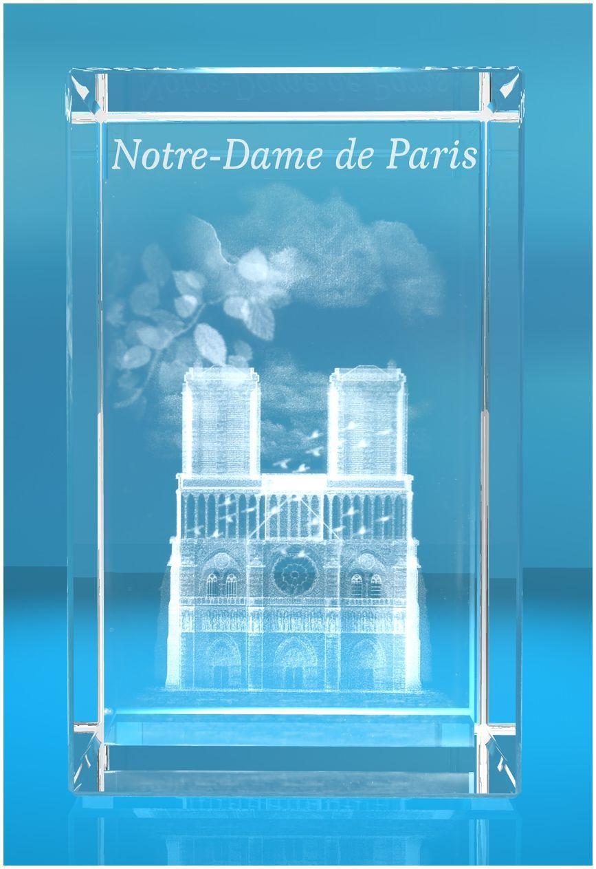 3D Glasquader   Notre Dame von Paris