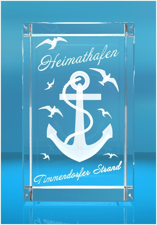 3D Glasquader I Heimathafen Timmendorfer-Strand