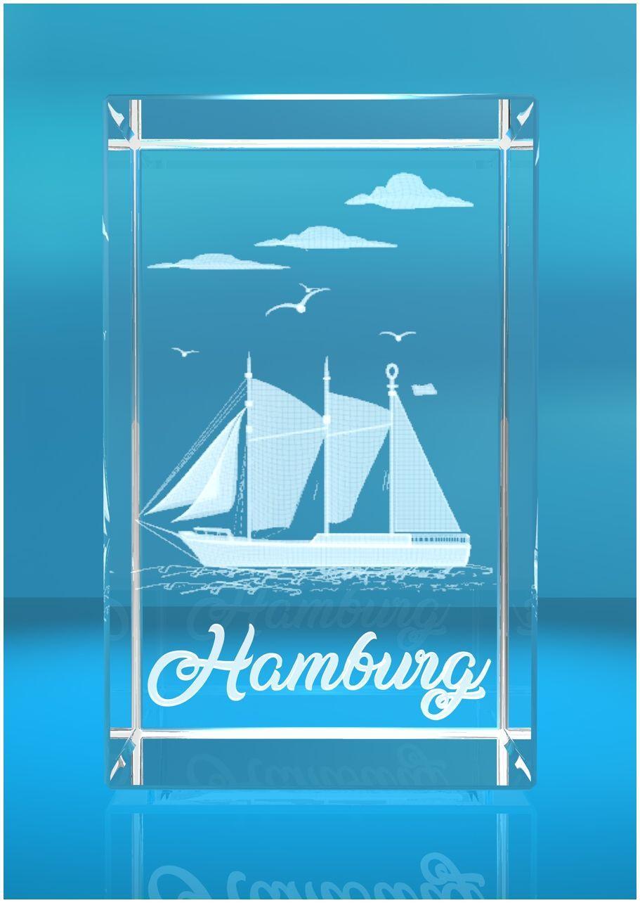 3D Glasquader I Hamburg I Schiff