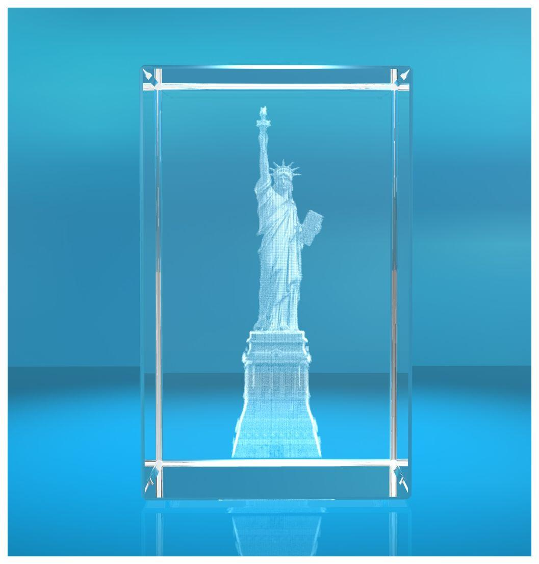 3D Glasquader I Freiheitsstatue